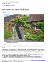 2017 06 01 Entrées de fermes en Beauce